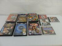 Whole sale Lot of 10 PC GAME LOT- DISNEY, NHRA, GOLF, CASINO, ETC.