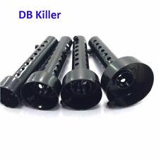 Motorcycle Black Exhaust DB Killer Muffler Insert Silencer Stainless Steel Can