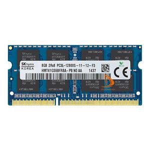 8GB SK Hynix 2Rx8 DDR3L 1600MHz PC3L-12800 SODIMM Laptop Memory RAM 1.35V 204Pin