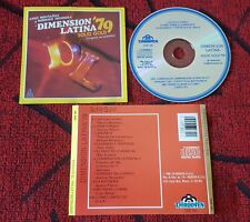 DIMENSION LATINA ** '79 Solid Gold ** ORIGINAL USA CD 1989 ANDY MONTAÑEZ