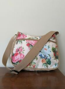 LeSportsac Shoulder Bag in Floral and Strawberry Print