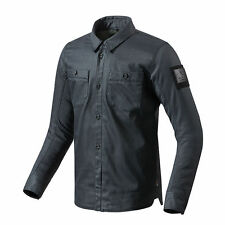 Motorcycle Rev It Tracer Armoured Overshirt - Denim Blue UK XXL 8700001211376