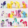 12pcs My Little Pony Mini Dolls PVC Character Figure Toy Miniature Set 40MM