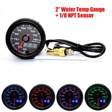 """2"""" Auto Wassertemperaturanzeige 7 Farben LED Display 40-140 ° Mit 1/8 NPT Sensor"""