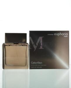 Euphoria Intense By Calvin Klein For Men Eau De Toilette 3.4 OZ 100 ML Spray