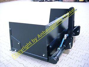 Heckschaufel, Heckcontainer Heck-Hochkippschaufel, für Erdarbeiten geeignet,