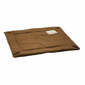 "K&H Pet Products Self-Warming Crate Pad Medium Mocha  21"" x 31"" x 0.5"""