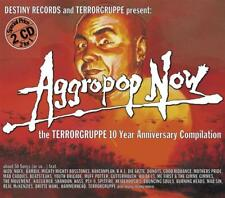 AGGROPOP NOW - TERRORGRUPPE 10 YEAR TOUR COMP 2CDs (NEW & SEALED) Punk Inc NOFX
