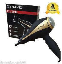 Dynamic Pro 2000 Ionique Sèche-cheveux 2000 Watt 2 Speed Réglages,