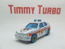 MATCHBOX VAUXHALL ASTRA GTE I OPEL KADETT GSI 1985 MY 1 POLICE CAR 75 MM LONG  I