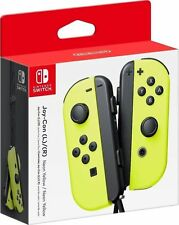 Nintendo Switch - Neon Yellow Joy-Con (L/R) - Wireless Controllers IN HAND NOW!