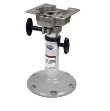 "Attwood Swivl-Eze 2385400 Boat Adjustable Pedestal Stool Seat Base, 2-3/8"" DIA."