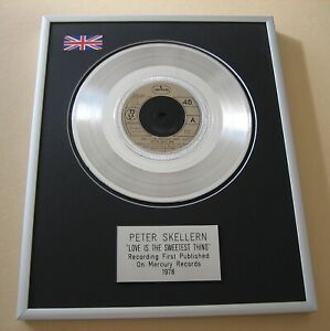 PETER SKELLERN Love Is The Sweetest Thing PLATINUM PRESENTATION DISC
