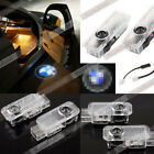 2pcs Laser Logo LED Car Door Step Ghost Shadow Courtesy Projector Light BMW w2b7