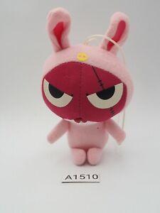 "Keroro Gunso A1510 GIRORO Rabbit Mascot Strap Bandai 2006 Plush 4.5"" Toy Doll"