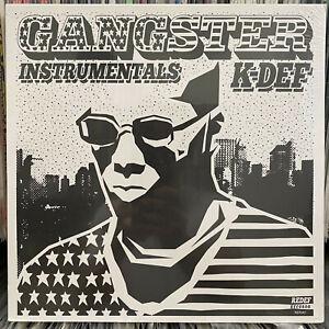 K-DEF - GANGSTER INSTRUMENTALS (VINYL LP)  2016!!  RARE!!!  REAL LIVE!!!  SEALED