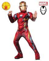 RD 1932 Boys Child Costume Fancy Dress Licensed Marvel Avengers Iron Man Hero