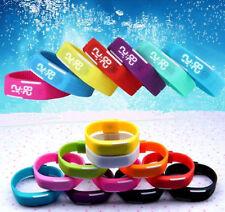 Unisex Sports Rubber Digital Red LED Watch Date Sports Bracelet Wrist Watch