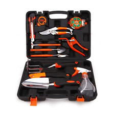 12PCS Gardening Hand Tools Set Kit Garden Yard Trimmer Shear Trowel Scissors