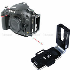 L-Bracket Vertical Quick Release Plate for Nikon D4 D4S D3 Camera Battery Grip