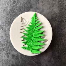 Helecho Hoja De Silicona Para Fondant para Decoración de Pasteles Sugarcraft Molde chocolate reposterìa Hazlo tú mismo