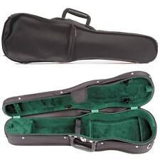 Bobelock 1007S Shaped Violin Case: Green Velour Interior & Instrument Suspension