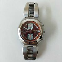 SEIKO ALBA AKA Mens watch V657 6030 chronograph red Quartz