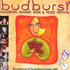 compilation, Budburst, Macedon Ranges Wine & Food Festival, Live, Oct 2003, CD