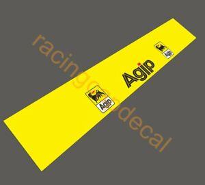 Agip Sun Strip Visor Windscreen Windshield Decal Sticker Banner ferrari lancia