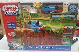 NEW Thomas & Friends Trackmaster Misty Island Discovery Motorized Train Set