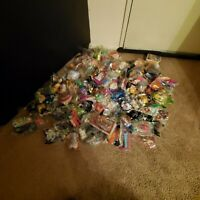 Lot Of 70+ Happy Meal Toys Mc. Donalds Plus A Few Wendy's And Burguer King