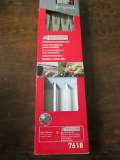 NEW Weber 7618 Elevations Tiered Cooking System 4-Piece Skewer Set