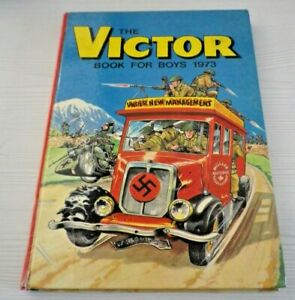 The Victor Book For Boys 1973 Good Condition