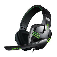 RockPapa Stereo Gaming Headphones Headset Mic Volume Control fr PC Computer Game
