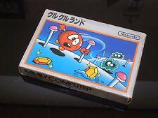 CLU CLU LAND Famicom Nintendo FC NES JP Japan