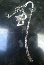 50 Fifty Shades of Grey Inspired Mask & Key Charm Bookmark Silver