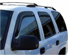 For: CADILLAC ESCALADE; 194304 Window Vent Shade Visors IN CHANNEL 2002-2006