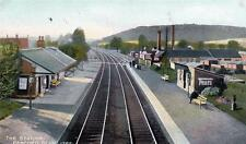 More details for pencoed nr bridgend raiway station old pc used 1908 hardings britannia series