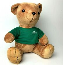 "Lacoste Parfums Limited Edition  12"" Plush Teddy Bear Green Shirt"