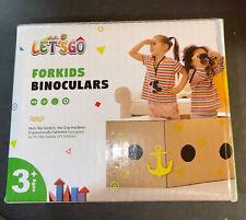 Let'S Go! Binocular for Kids,Compact High Resolution Shockproof 8X Bird Watching