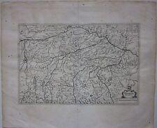 1638 BAVARIA DUCATUS acquaforte su rame Matthaus Merian Bayern Baviera München