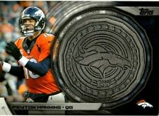 SP Peyton Manning 2014 Topps Kickoff Commemorative Coin!