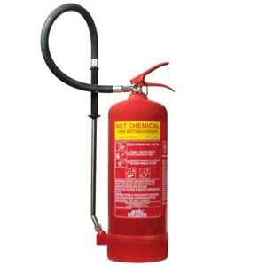 6ltr Wet Chemical Fire Extinguisher - Jewel Fire Group