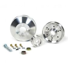 BBK 1555 Underdrive Pulley Kit 3 pc (Aluminum) For 96-01 Mustang GT/Cobra 4.6L