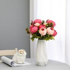 Luyue 13 Branch/Bouquet Artificial Home Gland Wreath Decor Flower Wedding Bridal