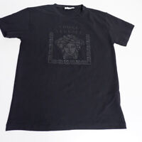 Versace Young Girls T Shirt, Size Small, Age 10 Years, Black, VGC