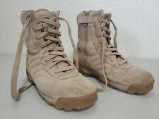 Original SWAT Army Boots Side Zip Waterproof Desert Tan US Men's 10.5