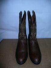 Laredo Men's 12 Trucker boot,Tan Distressed,11.5 D US