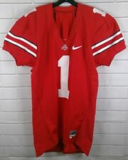 Authentic Nike Ohio State Buckeyes Football #1 Team Issued Jersey Size 46