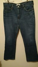 Levis 515 Low Rise Boot Cut Size 14 Whisker Distressed Women's